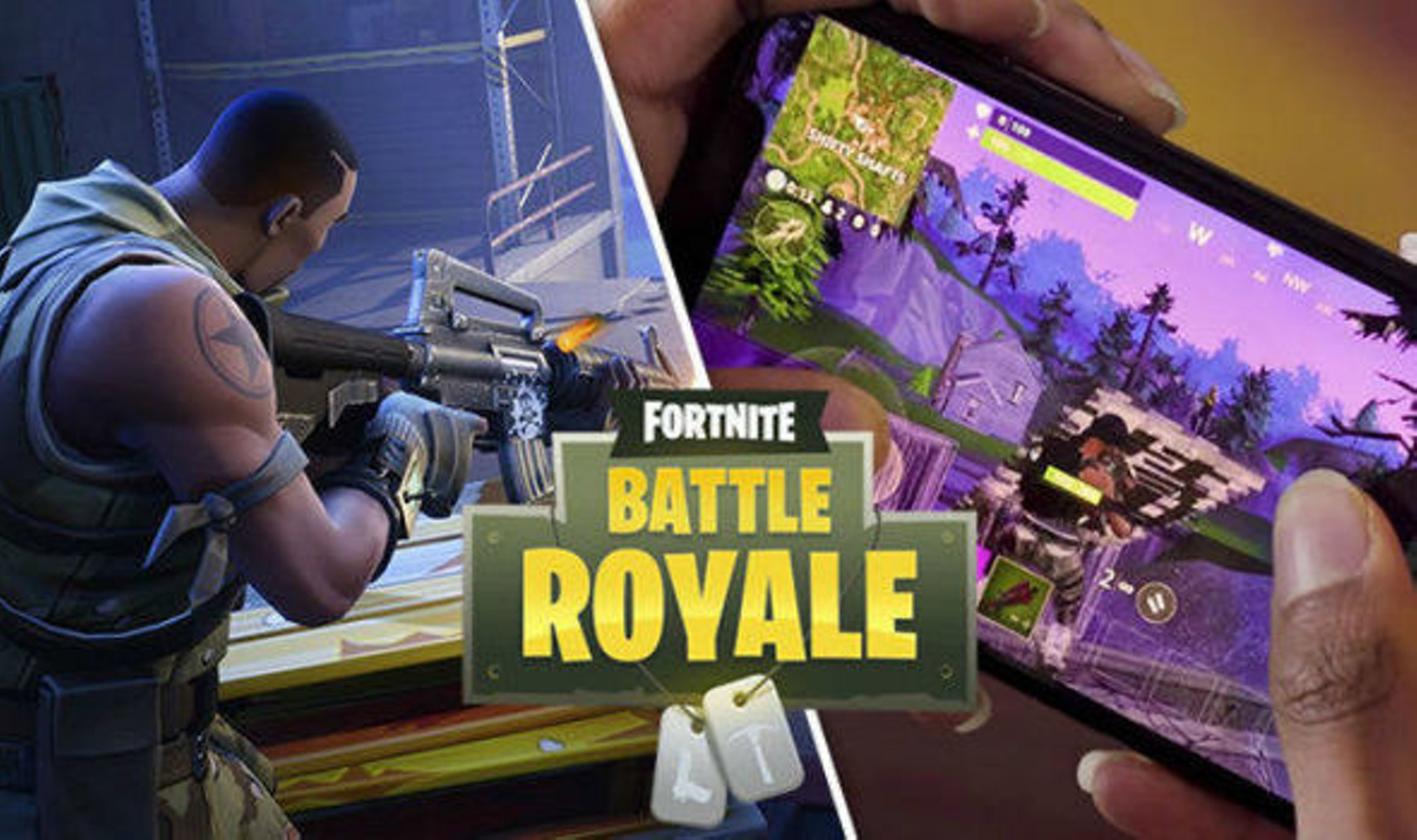 Compatible devices with Fortnite battle royale