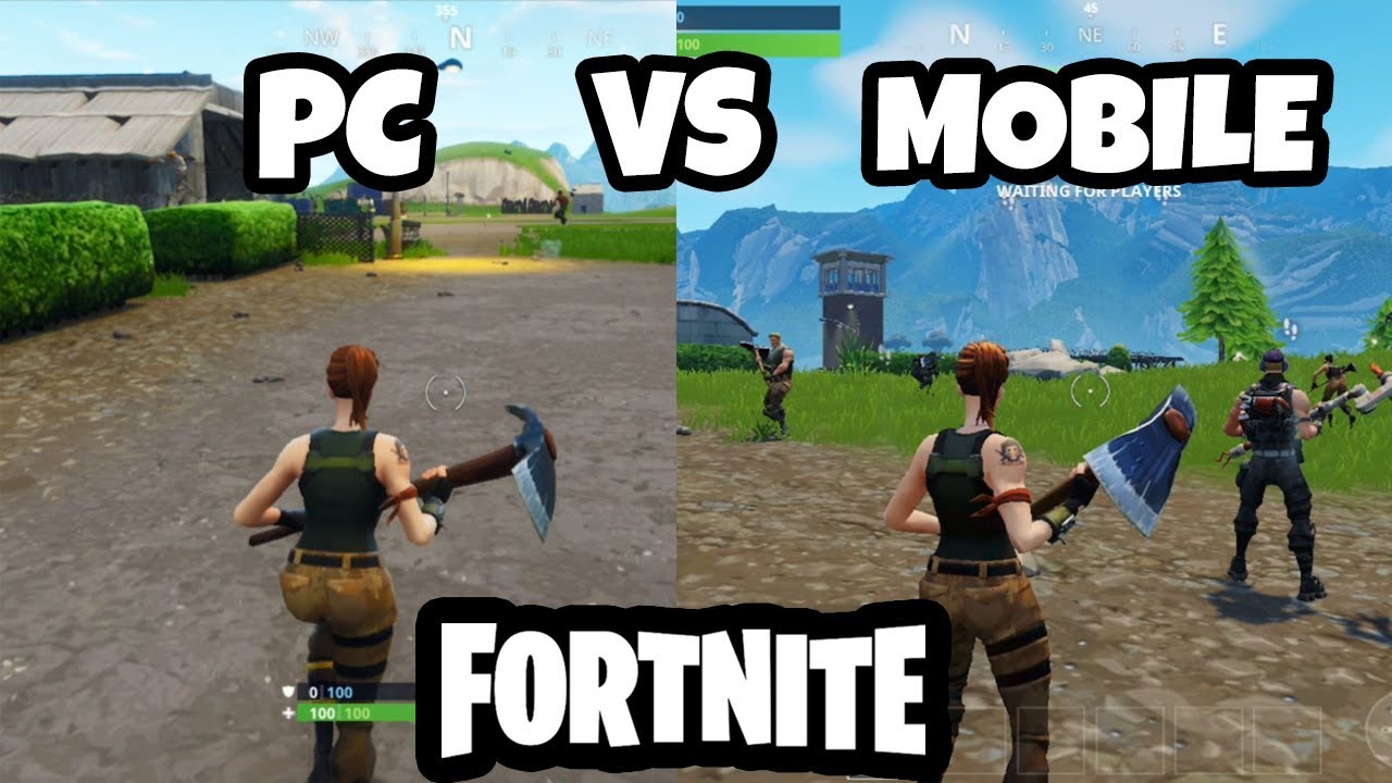 Fortnite From PC vs Mobile