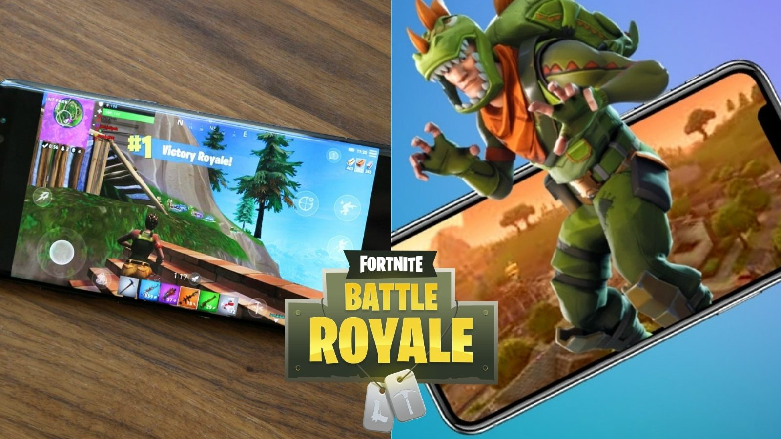 Fortnite battle royale mobile review