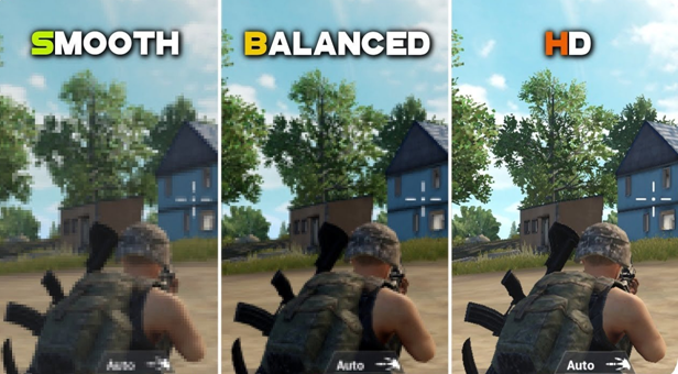 PUBG Mobile Graphics