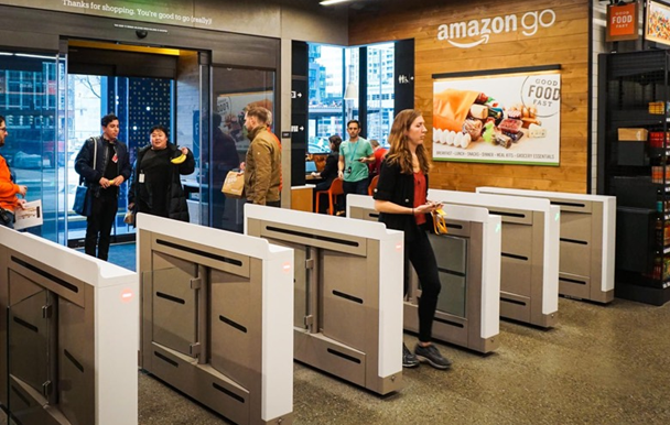 Amazon Cashless Store