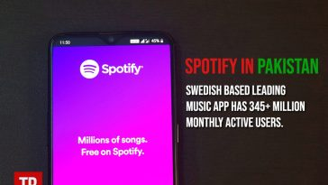Spotify in Pakistan